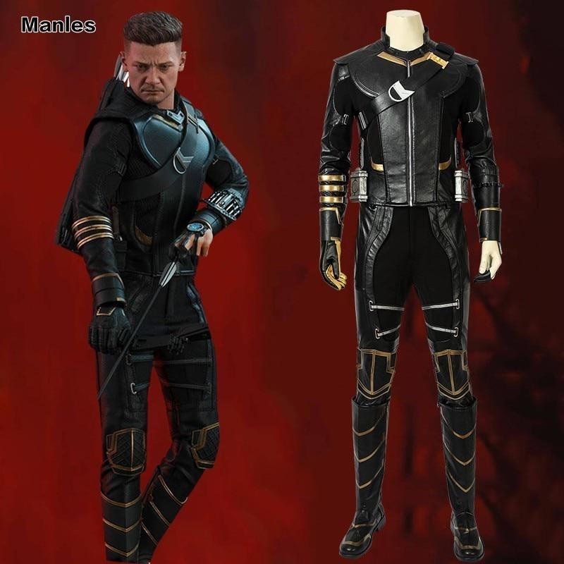 Avengers 4 Endgame Marvel Kostuum Cosplay Volwassen Hawkeye Clint Barton Outfit Halloween Carnaval Volledige Set Met Laarzen Superhero Om Te Genieten Van Een Hoge Reputatie Op De Internationale Markt