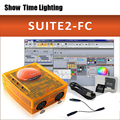 2019 versión Sunlite Suite2 FC DMX-USD controlador DMX 1536 canales buenos para DJ fiesta LED luces escenario control software