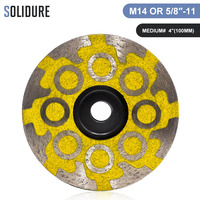 1pc/lot diamond 4 inch resin filled cup wheels turbo cup grinding abrasive tools for grinding stone,concrete and tiles