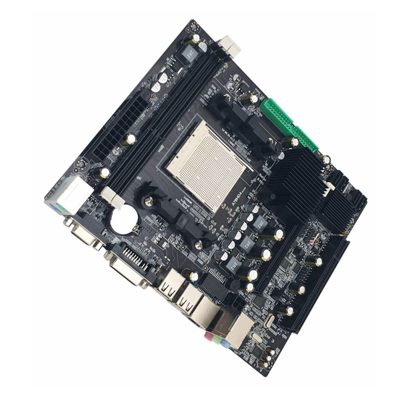 Jia Huayu A780 Practical Desktop PC Computer Motherboard Mainboard AM3 Supports DDR3 Dual Channel AM3 16G Memory Storage