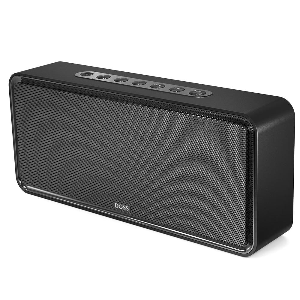 NEW DOSS DS 1685 Portable Wireless Bluetooth Soundbar Speaker High Quality Stereo Sound 3.5mm AUX Audio Input Subwoofer Speaker - 3