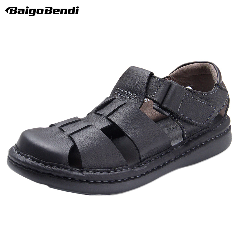 Hight Quality Men Hollow Out Fisherman Sandals Rome Style Business Man Casual Summer Shoes Ankle-Wrap SandalHight Quality Men Hollow Out Fisherman Sandals Rome Style Business Man Casual Summer Shoes Ankle-Wrap Sandal