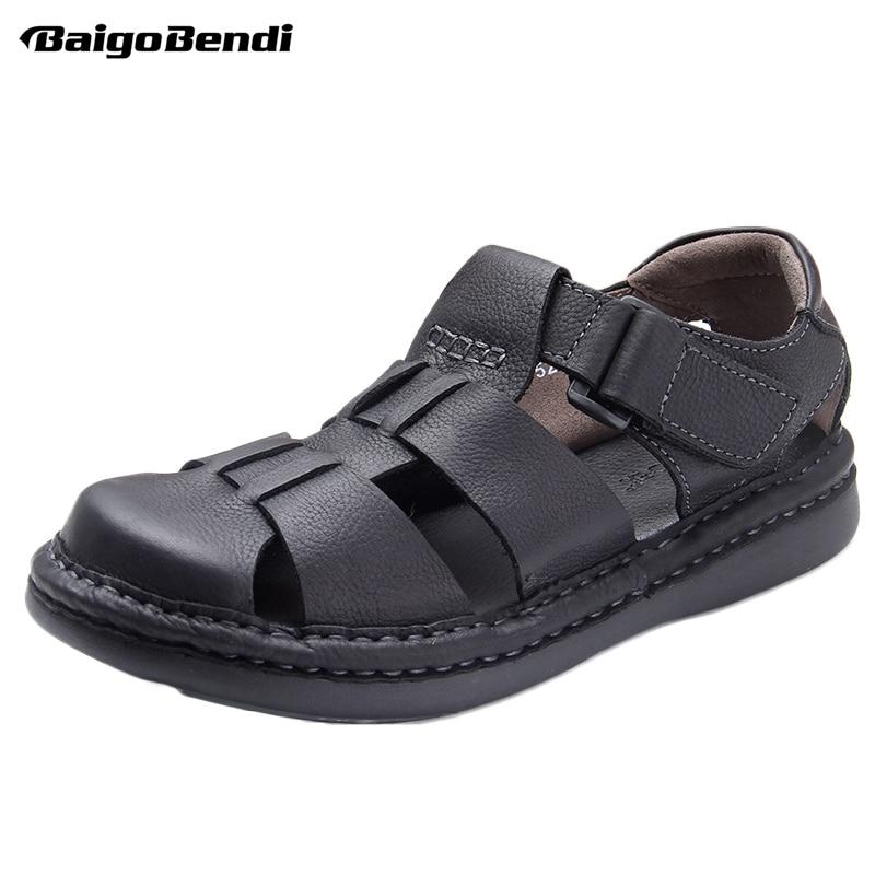 Hight quality men hollow out 어부 샌들 로마 스타일 비즈니스 맨 캐주얼 여름 신발 발목 랩 샌들-에서남성용 샌들부터 신발 의  그룹 1
