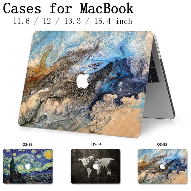 For Notebook MacBook Bag Laptop Case Sleeve For MacBook Air Pro Retina 11 12 13.3 15.4 Inch With Screen Protector Keyboard Cover