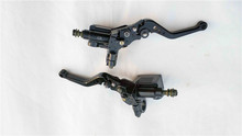 Master Cylinder Reservoir Hydraulic Scooter Brake Clutch Lever For YAMAHA Majesty Cruiser T2 T3 T5 T8 Motorcycle Pair M10 motorcycle cylinder kit 250cc engine for yamaha majesty yp250 yp 250 170mm vog 257 260 eco power aeolus gsmoon xy260t atv