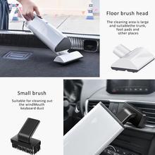 все цены на Car Vacuum Cleaner 12V Cable Car With High Power 120W Portable Handheld Vacuum Cleaner Wet Dry Dual Use Car Interior Cleaner онлайн