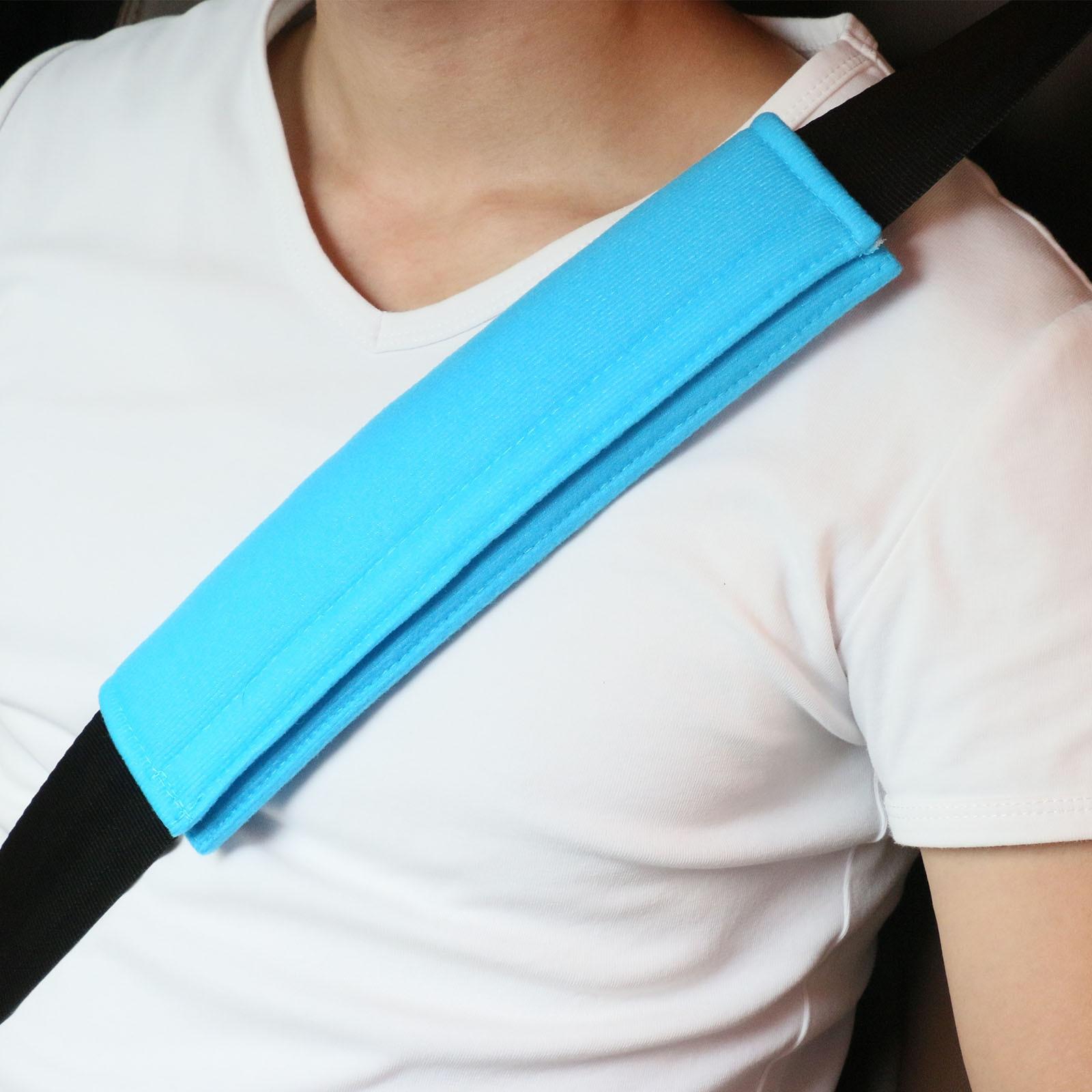 Seat Belt Shoulder Strap Covers Harness Pads Soft Car Safety For Adults Children For Car Seat Belt Backpack Shoulder Bag Elegant And Graceful