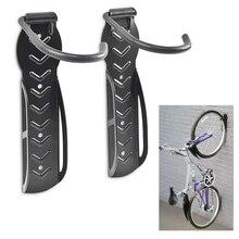 2pcs della bici gancio a muro Parete Custodia Del Supporto Del Basamento della bicicletta Parcheggio Rack Heavy Duty MTB della bici della strada gancio Ciclismo accessori