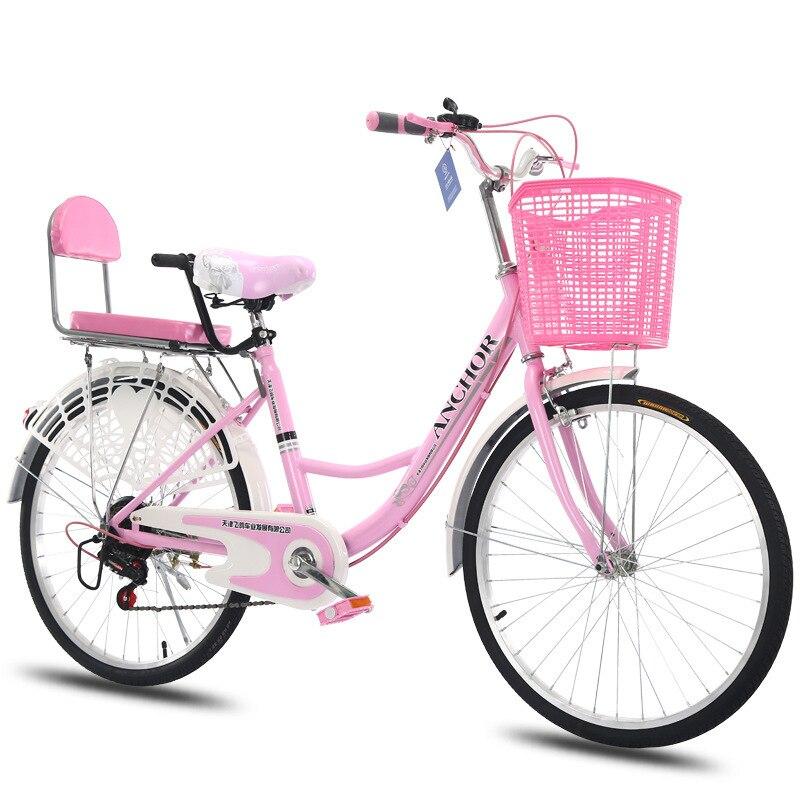 AD0300077 Trajeto das Mulheres Da Cidade de Old-fashioned Comum Em Vez De Andar de Bicicleta Luz Adulto Princesa Estudante do Sexo Masculino Senhora