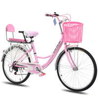 AD0300077 Women's Commute Bicycle Common Old-fashioned City Instead Of Walking Light Adult Princess Student Male Lady