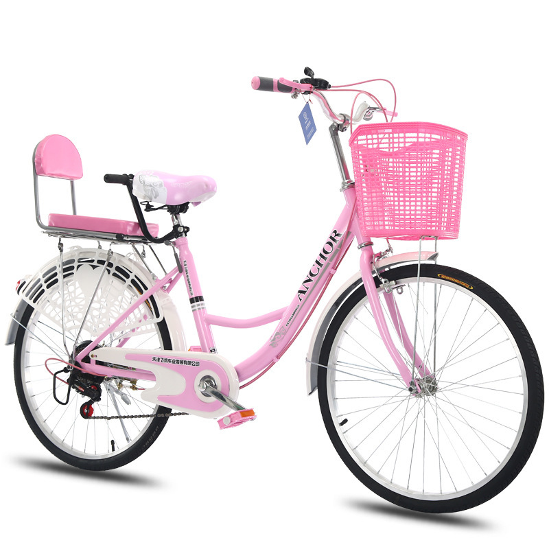 AD0300077 Women's Commute Bicycle Common Old fashioned City Instead Of Walking Light Adult Princess Student Male Lady