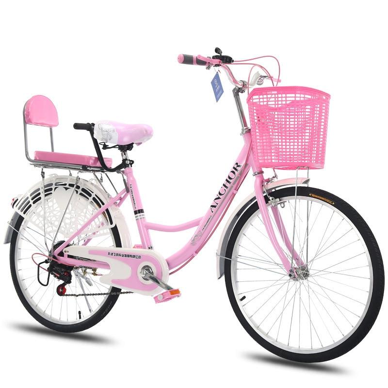 AD0300077 vélo de trajet des femmes commune vieille ville au lieu de marcher lumière adulte princesse étudiant homme dame