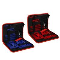 19pcs/set Car Trim Removal Tool Set Pry Bar Panel Door Interior Hand Tools Kit With Storage Bag