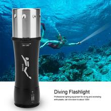 Professional Diving Light Flashlight 3 Mode Dimming Diving LED Flashlight Magnetic Switch Waterproof Underwater Flashlight trustfire tr j2 diving flashlight 1000 lm xml l2 4 mode led flashlight