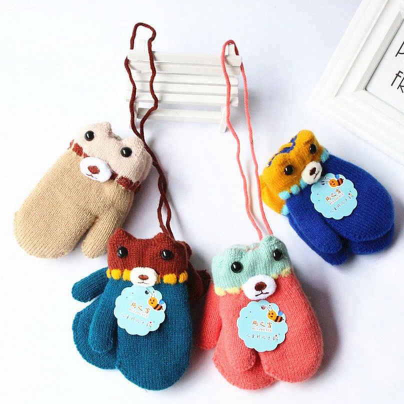 2803a9ac4 Detail Feedback Questions about Winter Warm Children Gloves Kids ...
