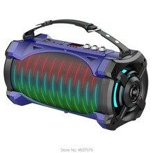 Bazooka сверхмощный портативный открытый bluetooth динамик сабвуфер с микрофоном супер бас вечерние колонки