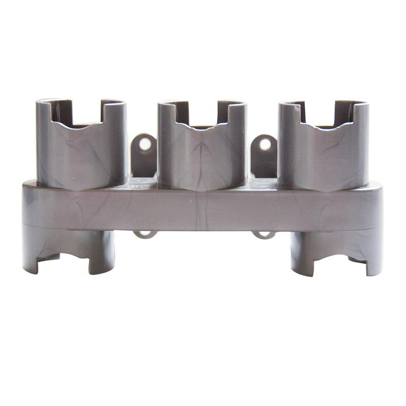Almacenamiento de accesorios de equipo estante para Dyson V7 V8 V10 absoluta cepillo herramienta de Base soporte piezas de limpiador de vacío de