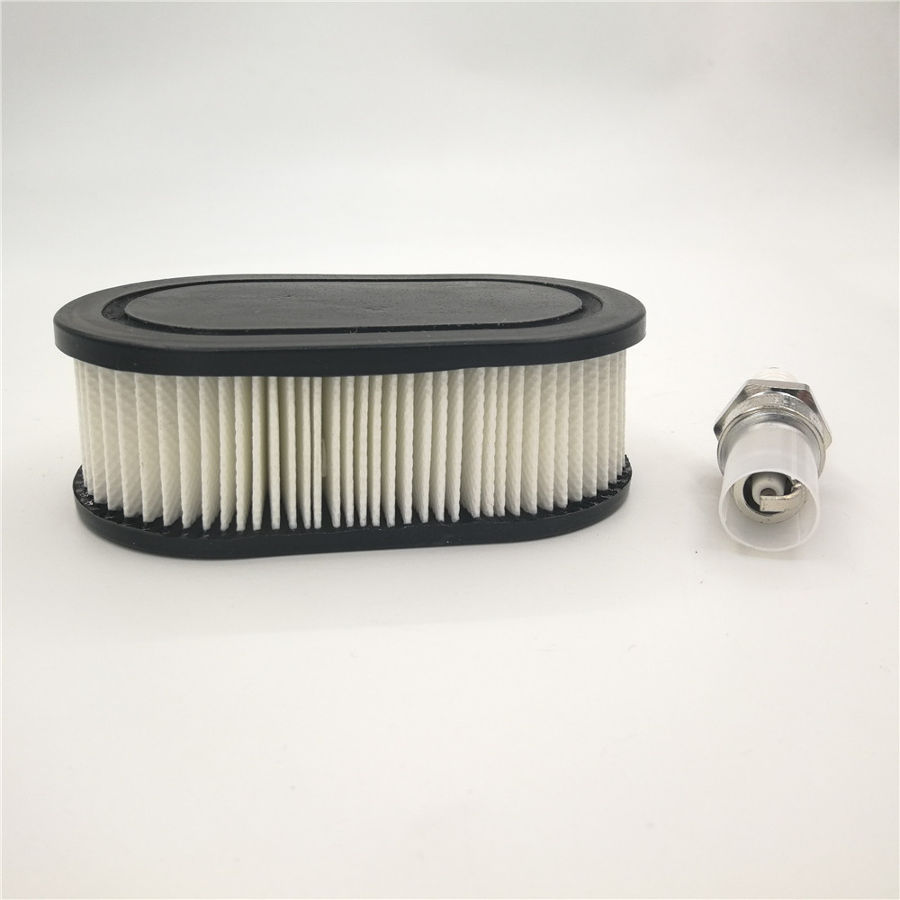 HIPA Oval Air Filter with Spark Plug for Troy Bilt TB110 TB115 TB200 TB230 TB330 TB370 Walk Behind Lawn Mower : Garden & Outdoor|Tool Parts| |  - AliExpress