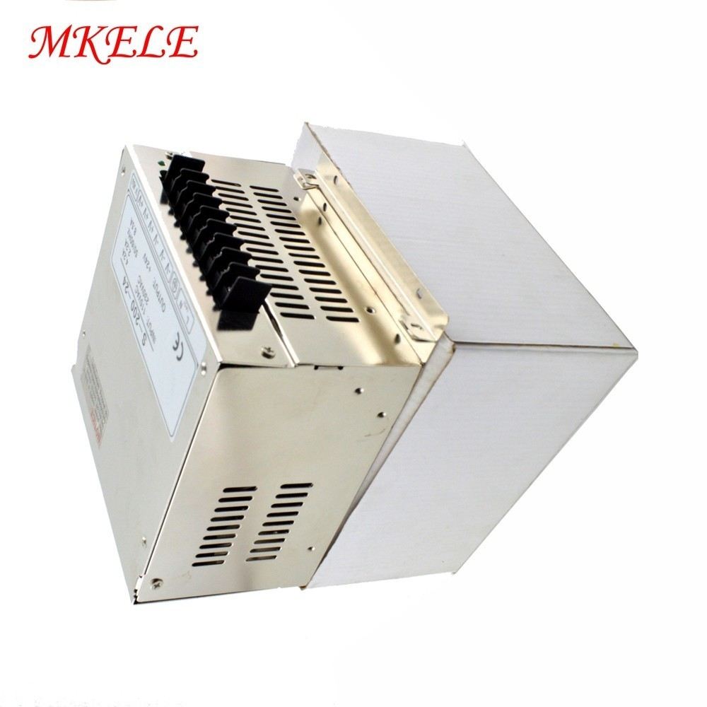 superior quality! Wantai Single Output Switching Power Supply 200W 24V S-200-24 for CNC Router stepper motor & Engravingsuperior quality! Wantai Single Output Switching Power Supply 200W 24V S-200-24 for CNC Router stepper motor & Engraving