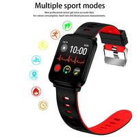 K10 Square Bluetooth Smart Watch Heart Rate Blood Pressure Monitoring Sports Mode IP68 Waterproof With Camera Smart Bracelet