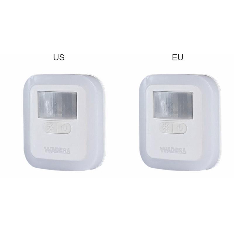 Kaigelin Light Control Power-saving Light Night Intelligent Brightness LED Night Lamp EU/US Plug 5 Modes Dimming Lights