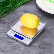 500/0.01g 3000g/0.1g Mini Digital Jewelry Scale Electronic Balance Food Kitchen Scale Pocket weight scale with 2 Tray 500g x 0 01g kitchen scale portable mini digital pocket electronic case postal jewelry balance 0 01g weight scale with 2 tray