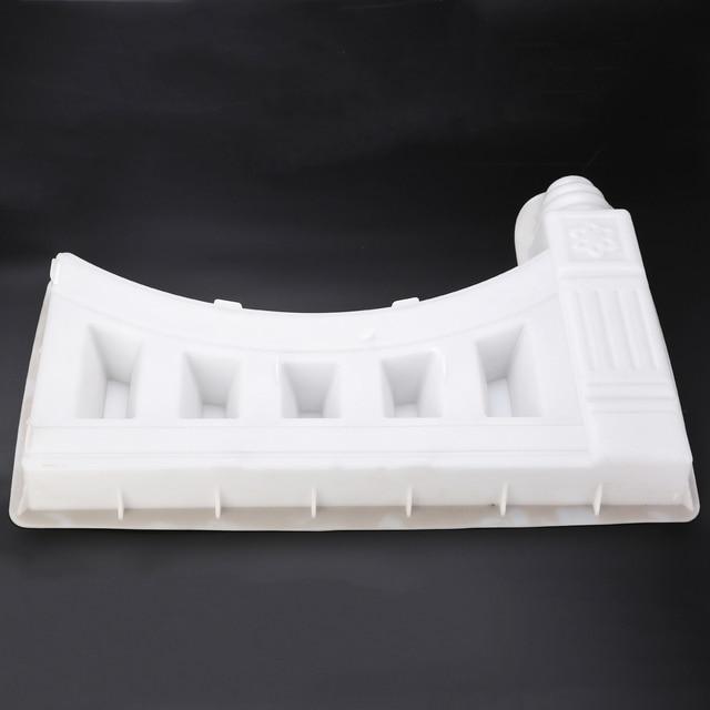 Sale Plastic Garden Fence Mold White Concrete Molds Hollow Brick