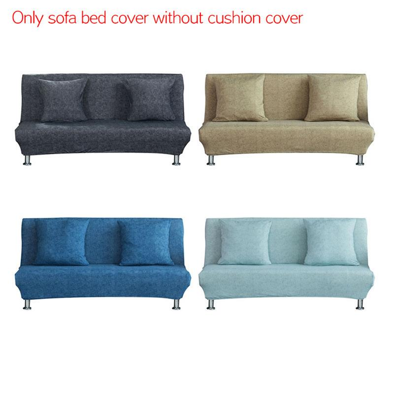 Stripping Pattern Folding Sofa Bed Cover No Armrests All Inclusive
