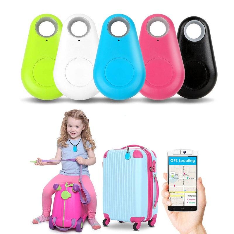 Control remoto inteligente niño Pet Anti perdido Keyfinder alarma Bluetooth rastreador GPS portátil de clave de etiqueta con localizador de la batería