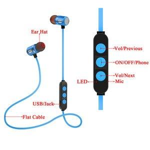 Image 2 - 2019 ブランド新しい Bluetooth 4.1 ヘッドセットワイヤレスヘッド電話アクティブノイズキャンセルイヤホンで携帯電話 IPod スポーツ