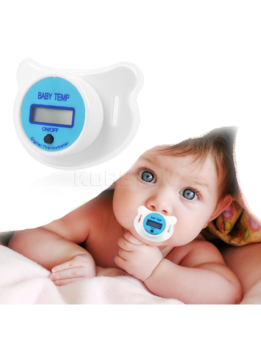 Lcd Digital Baby Nipple Thermometer Medical Silicone Pacifier Childrens Thermometer Health Safety Care Thermometer For ChildreLcd Digital Baby Nipple Thermometer Medical Silicone Pacifier Childrens Thermometer Health Safety Care Thermometer For Childre
