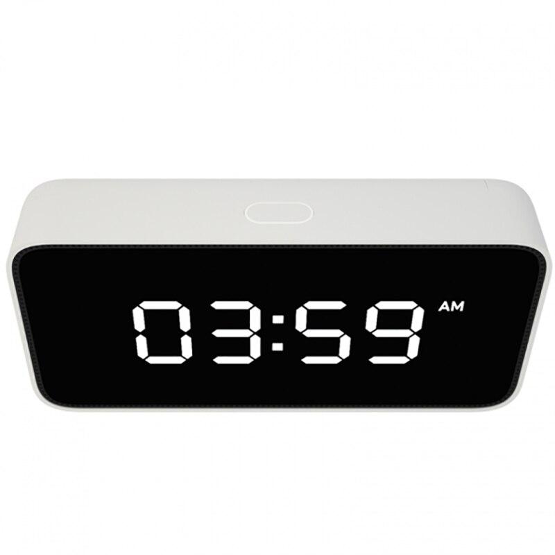2018 Nieuwe Smart Voice Broadcast Wekker Abs Tafel Dersktop Klokken Tijd Kalibratie Werk Met Mi Thuis App - 2