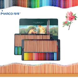 Marco 24/36/48/72 Colors/set Watercolor Colored Pencil Professional Drawing Pencils School Pencils lapices de Color Art Supplies