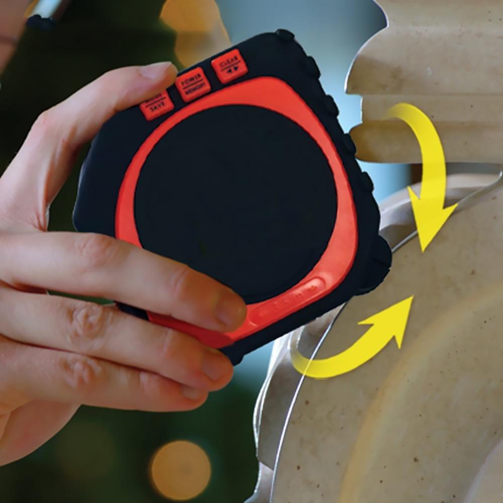 3-In-1 Hoge Nauwkeurigheid Laser Digitale Meetlint Meetinstrument Grote Back-Lit LED Digitale Display laser Niveau Tape