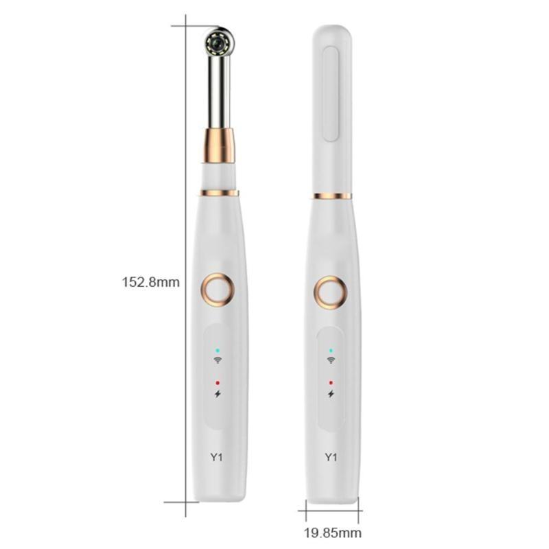 Купить с кэшбэком WIFI Oral Dental Intraoral Camera Dentist Device HD 720P IP67 Waterproof Oral Dental Endoscope Teeth Mirror for IOS Android