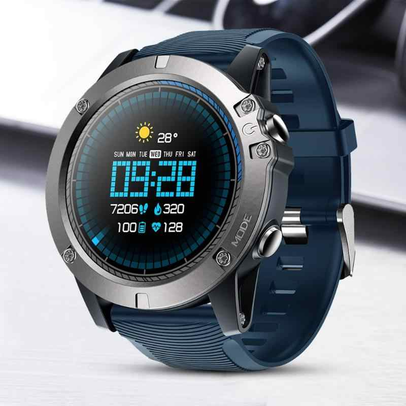 Zeblaze VIBE 3 Pro Smart Watch Full Round Touch IP67 Waterproof Real-time Weather Optical Heart Rate Monitor All-day Tracking