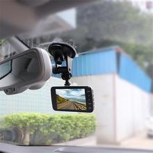 4 pollici Dual Lens Macchina Fotografica HD 1080 P Dell'automobile DVR Del Veicolo di Video Dash Cam Recorder G-Sensor