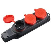 Eu Plug Ip44 European Standard Outdoor Waterproof Socket