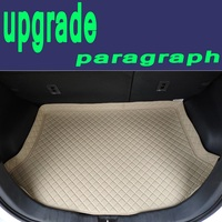 ZHAOYANHUA Custom fit High side car Trunk mats for Hyundai Volkswage JETTA GOLF 4 6 7 MAGOTAN Sagitar Durable Boot Carpets