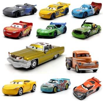 39 styl zygzak mcqueen Pixar Cars 2 3 metalowe odlewane samochody Disney 1 55 pojazd Metal kolekcja zabawki dla dzieci dla dzieci chłopiec prezent tanie i dobre opinie 3 lat Diecast Disney Pixar Cars 3 Suggest 3 years of age or older children play Inne Samochód company name Alloy + ABS Plastic