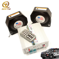 Super Loud Speaker 600W 12V Warning Sound Wireless Megaphone Police Siren for Car Moto Auto Train Alarm Horn PA MIC System VW