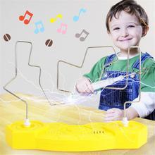 Детская ударная игрушка с электрическим током, обучающая электрическая сенсорная игра-лабиринт, Вечерние игры, забавная игра для детей, Детские Обучающие принадлежности, детские игрушки