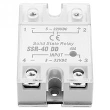 SSR-40 DD 40A 5-220VDC Solid State Relay For Industrial Automation Process solid state relay High Quality недорого