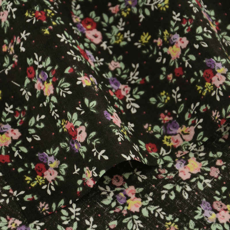 New Arrivasl 100% Cotton Fabric Lovely Flowers Designs Sewing Clothing Patchwork Tissue Cloths for Beginner's Practice Tecido