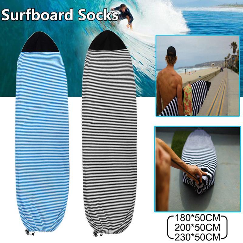 Planche de Surf chaussettes couverture 6.3/6.6/7 ''planche de Surf sac de protection mallette de rangement Sports nautiques pour Shortboard Funboard Surf Sports