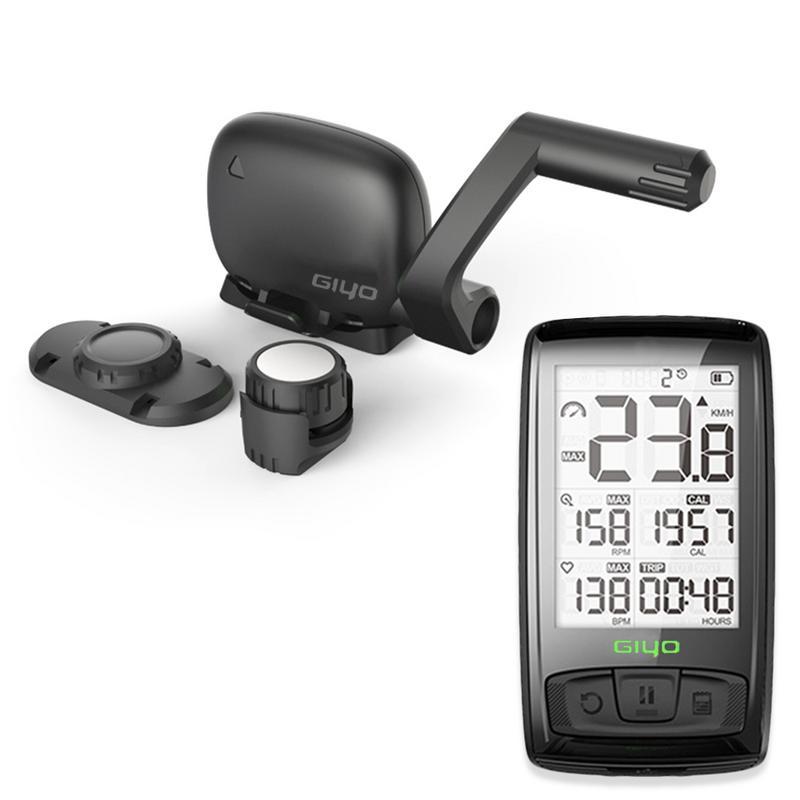 2.5 pouce Sans Fil Ordinateur De Vélo USB Rechargeable Vélo Vélo Ordinateur avec Capteur de Cadence Vélo Compteur De Vitesse Odomètre