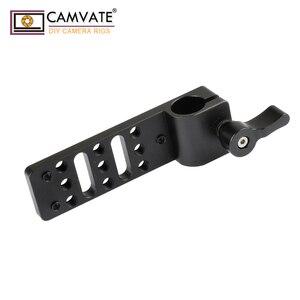 Image 5 - Extensão de camvate cheeseplate com padrão 15mm única haste braçadeira para lanterna led/monitor/microfone/led luz de montagem