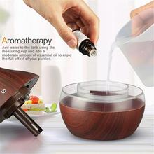 USB Wooden Humidifier for Bedroom Decor