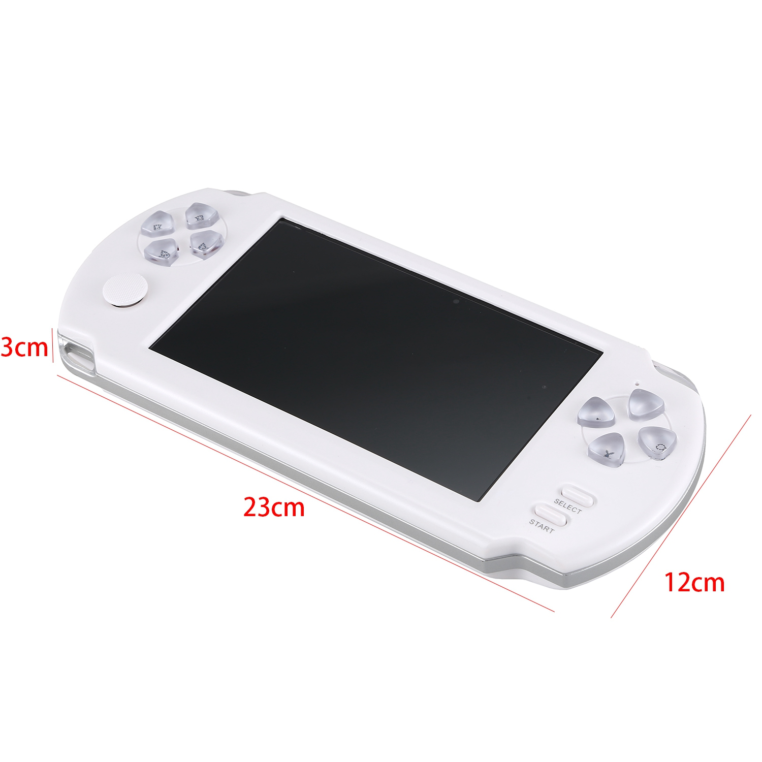 5 1 Inch Powkiddy 8G Retro Game Console Joystick Handheld Game Player Family TV Retro Video Consoles Built In 500 Games With P in Handheld Game Players from Consumer Electronics