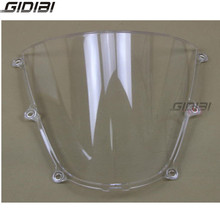 Clear Motorcycle WindScreen Windshield Double Bubble For Honda CBR600RR CBR 600 RR 2005 2006 ABS Plastics